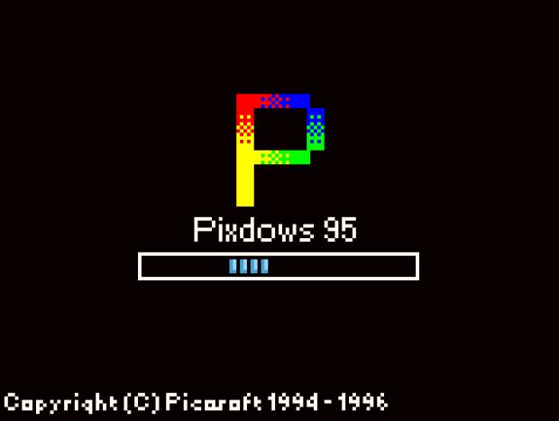 Pixdows 95 DEMO-1