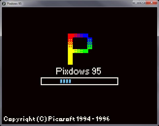 Pixdows 95 DEMO-2
