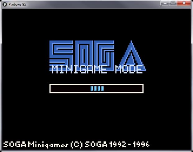 SOGA Minigame System technical DEMO