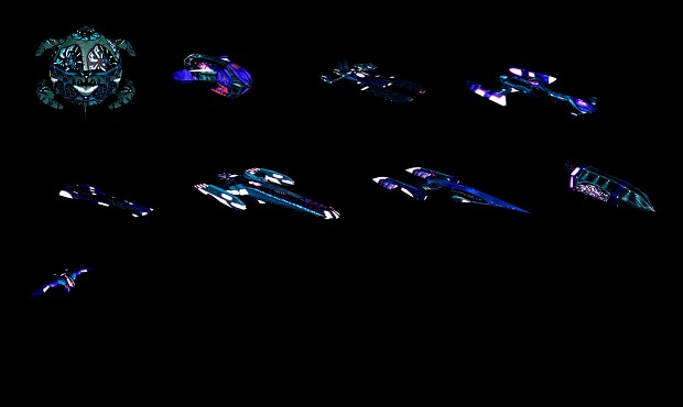 Polaris Sector Star Trek TMP Hydran ships