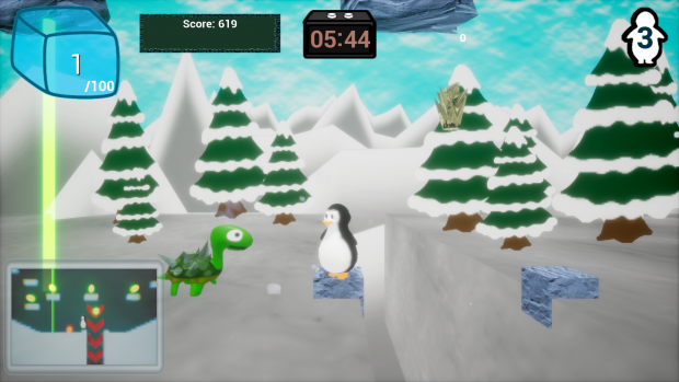 Brian The Penguin In It Came From The Skies 0.1.2a