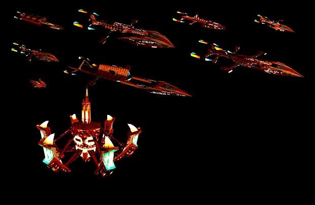 Polaris Sector Star Trek TMP Mirak ships