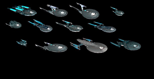 Polaris Sector Star Trek TMP Federation ships