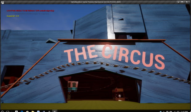 Hello Neighbor: The Circus
