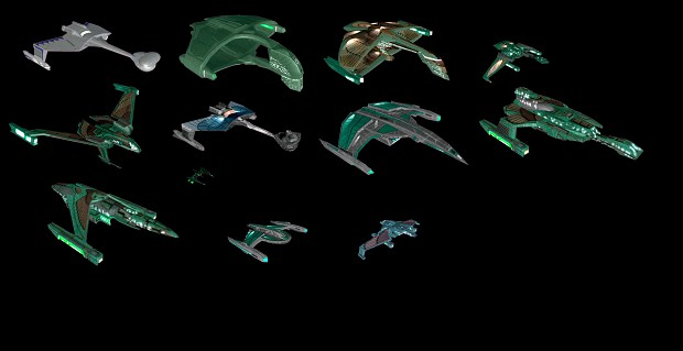 Polaris Sector Star Trek TMP Romulan ships