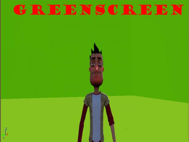 Greenscreen!