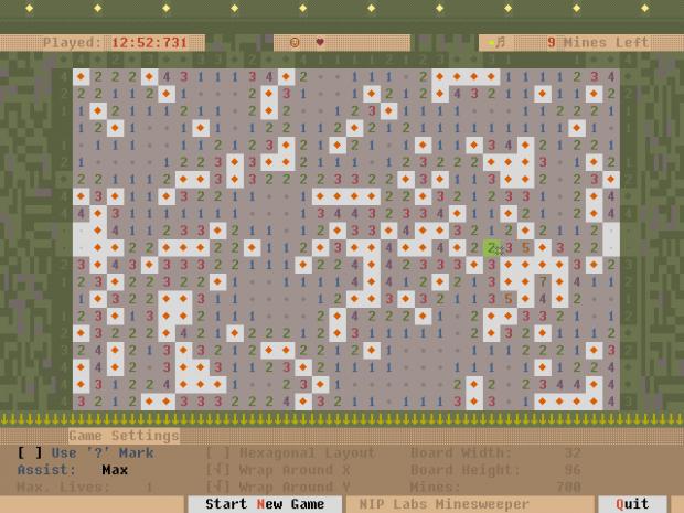 NIP Minesweeper v1.0