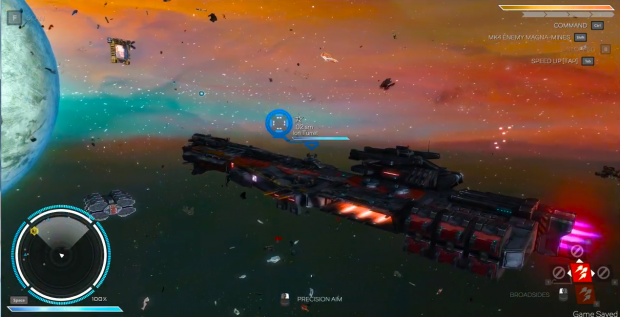 Rebel Galaxy the starting ship