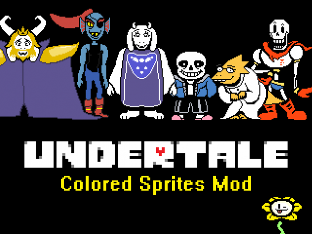 Colored Sprites Mod