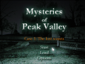 Mysteries of Peak Valley: Case 1 The Lost Sonata