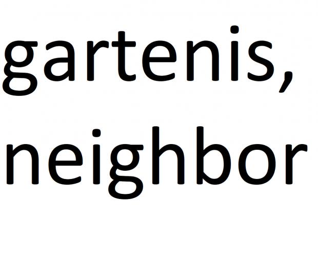Gartenis Neighbor Content