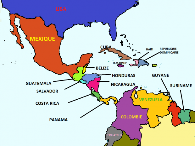 South America, more countries 2.1