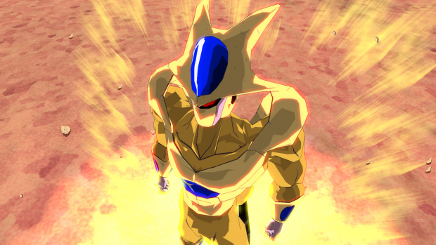 DB Heroes - Golden Cooler by Iranchani