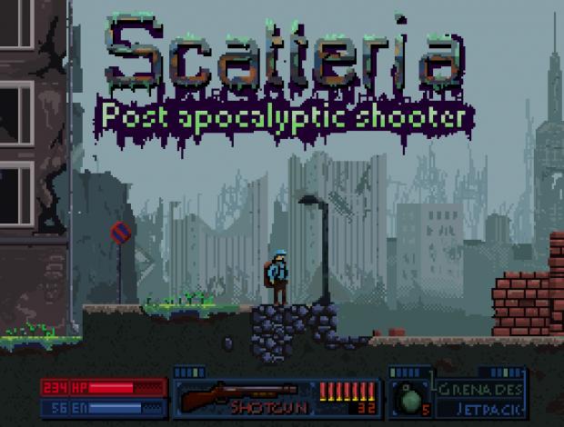 Scatteria Splitscreen demo (v0.10)