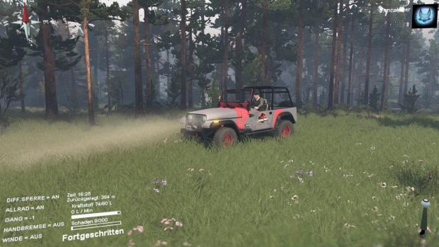 Jeep Wrangler from Jurassic Park