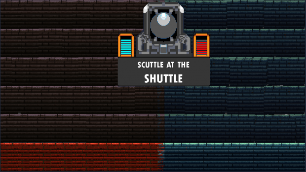 Scuttle at the Shuttle