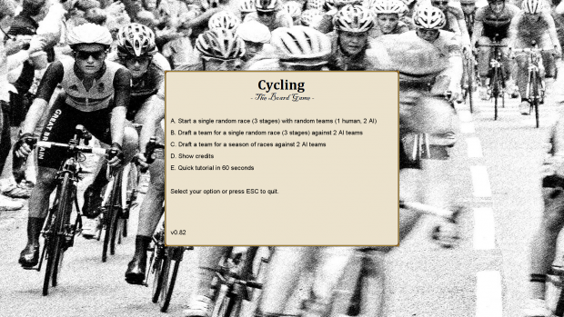 Cycling - the board game (full version)