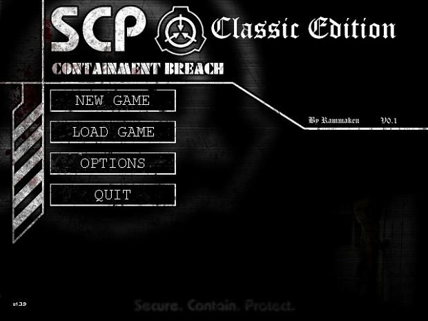 SCP:CB Classic Edition v0.1