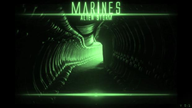 Marines Alien storm V0.1 ( level 1 Demo )