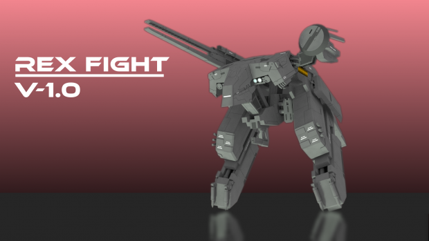 Metal Gear Boss Fights - Rex V-1.0