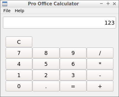 Pro Office Calculator v1.0.5 - Debian 64-bit