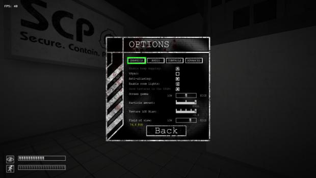 [1.3.10] SCP - CB Field Of View (FOV) Mod v2.0