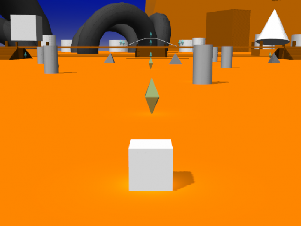 Cube Defender of the Polyverse Demo