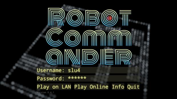 Robot Commander Version 0.4.1