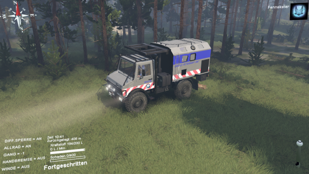 Mercedes Unimog VET from Jurassic World