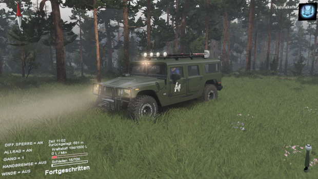GM Hummer H1 from The lost World