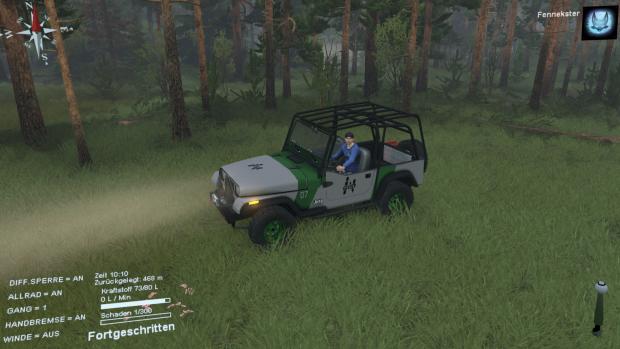 Jeep Wrangler from Jurassic World Regenesis