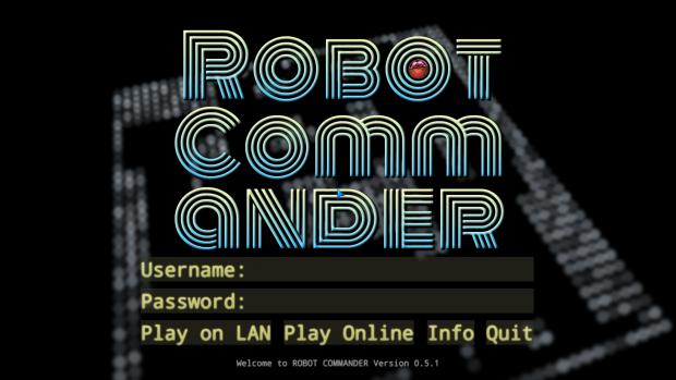 Robot Commander Version 0.5.1