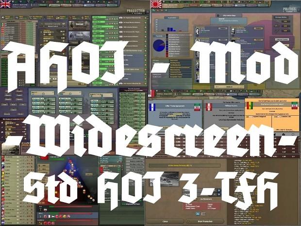 AHOI Mod - Widescreen GUI for Std HOI3-TFH 4.02