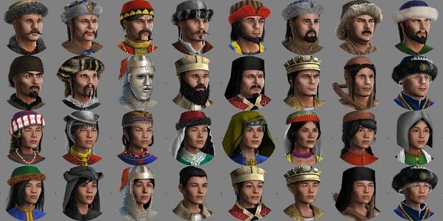 Steppe Faces v1.0