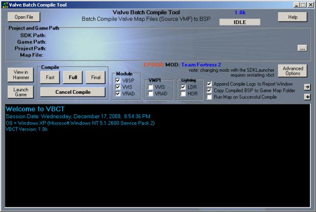 Valve Batch Compile Tool