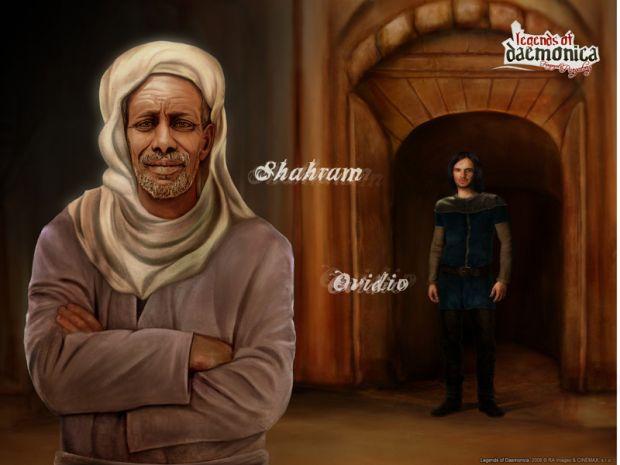 Shahram and Ovidio