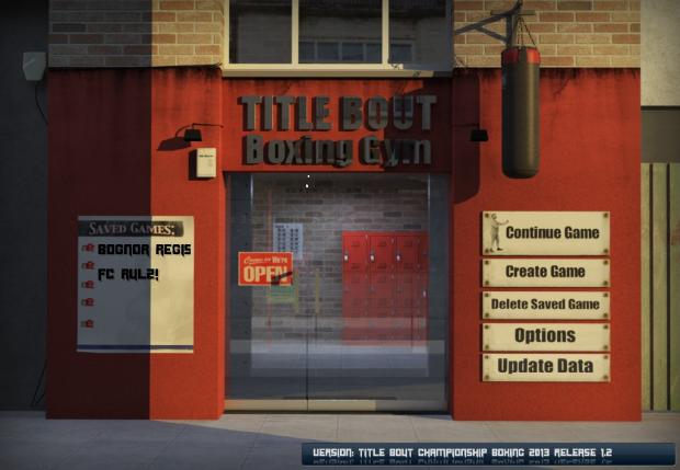 Title Bout Championship Boxing Demo