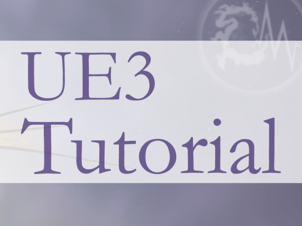 UE3 Tutorial 02 - Import Original 3d/2d Assets