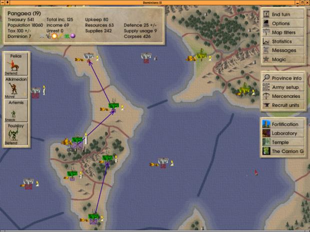 Dominions 2: the Ascension Wars 2.08 Demo