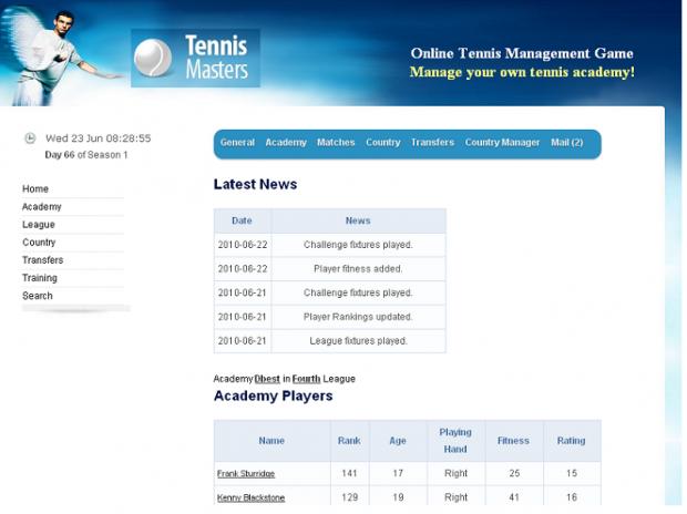 Tennis Masters Series 2003 Demo