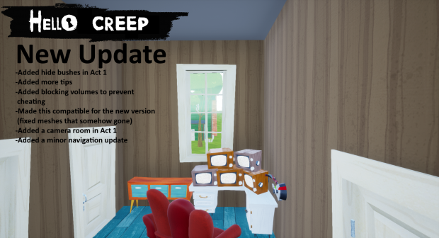 Hello Creep Update (For new modkit)