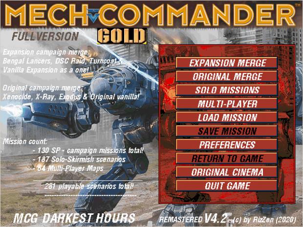 MCG Darkest Hours Full Version 4.2 FINAL!