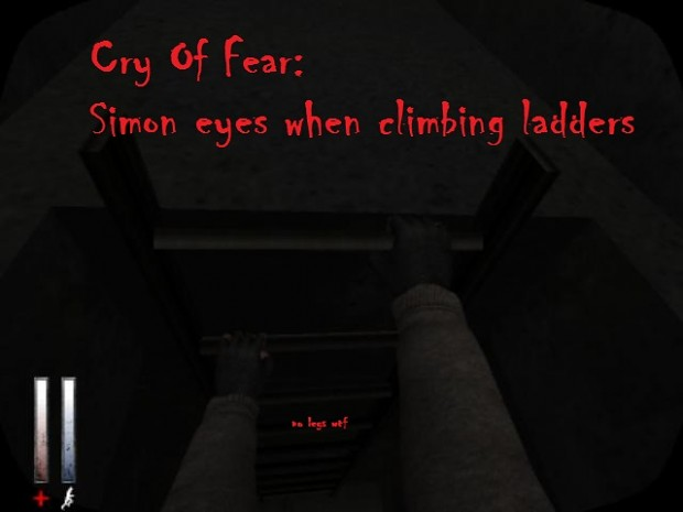 Cry Of Fear: Reanimated Camera angle when simon climbs ladders