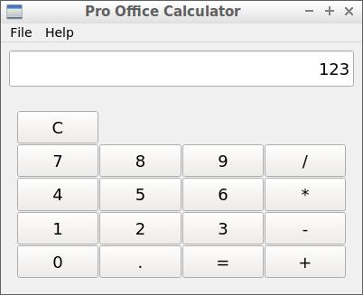 Pro Office Calculator v1.0.12 - Ubuntu 64-bit