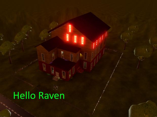Hello my raven
