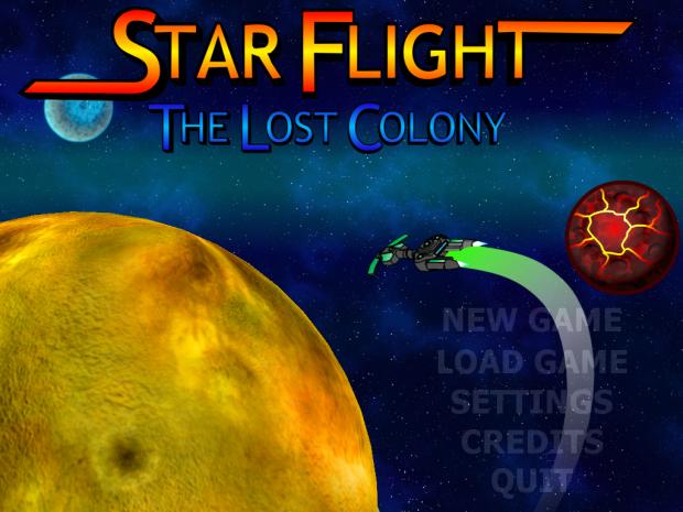 Starflight - The Lost Colony Manual