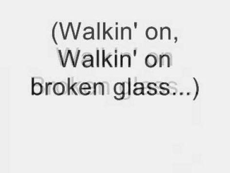 Walking on Broken Glass. Visual Short Story