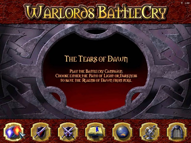 Custom Campaign: The Tears of Dawn (WBC1 campaign) for 0.8.8