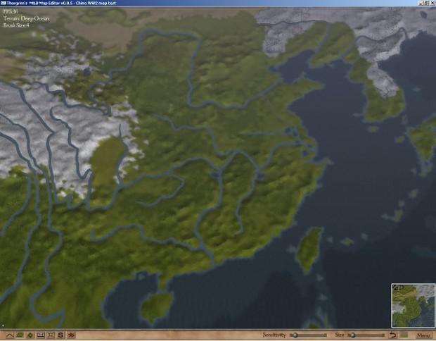 WW2 China Battlefield single player map v2.04