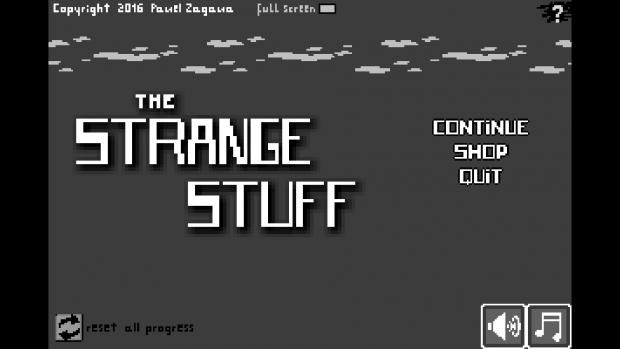 THE STRANGE STUFF